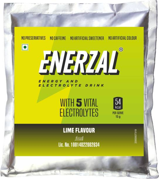 Enerzal Energy Drink Lime Flavour Energy Drink