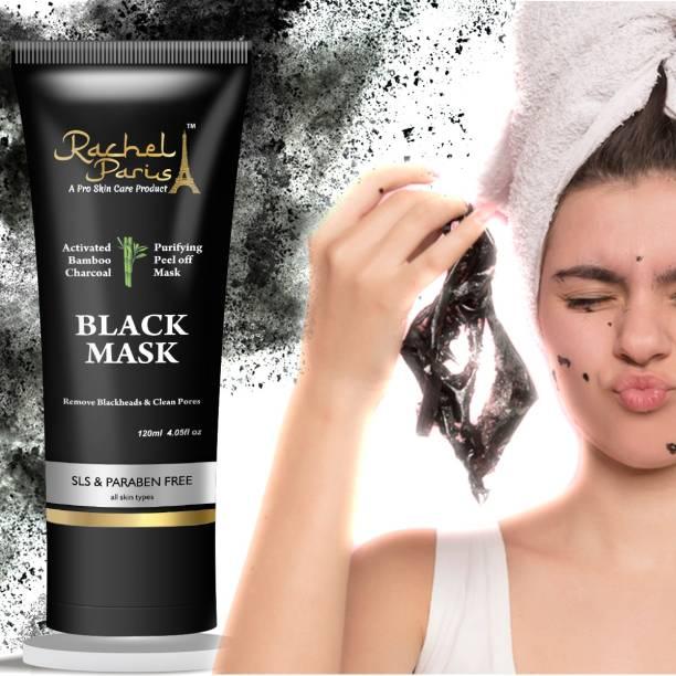 Rachel Paris Charcoal Peel Off Mask Clean Pores & Remove Blackheads