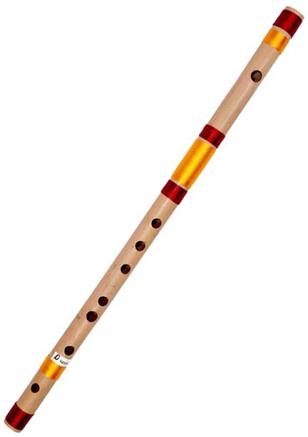 NEXTOMART Musical Flutes Bamboo Flutes D Natural 7 Hole Right Hand Bamboo Bansuri Size 18 Inch With Free Carry Bag Bamboo Flute