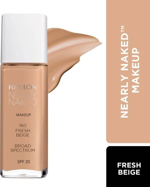 Revlon Nearly Naked Make Up Spf 20, 160 Foundation