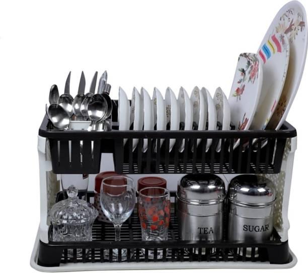 Khunt Enterprise Kitchen Organiser Rack Utensil Kitchen Rack (Plastic) Utensil Kitchen Rack