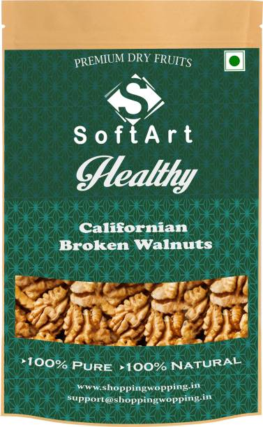 Soft Art Healthy Broken Walnut (without shell) Vaccum Pack Walnuts (100 grams) Walnuts