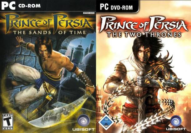 Prince of Persia Two Thrones & the sands of time combo (Standard)