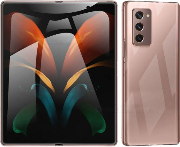 Case Creation Front and Back Screen Guard for Samsung GalaxyZ Fold 2