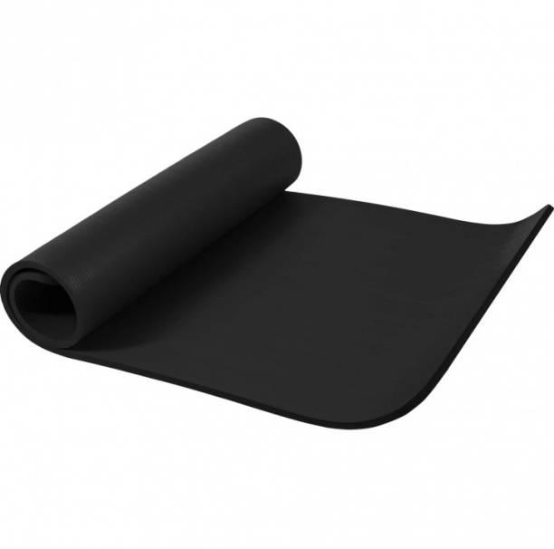 Fitness Mantra Anti Skid Exercise Mat Black 6 mm Yoga Mat
