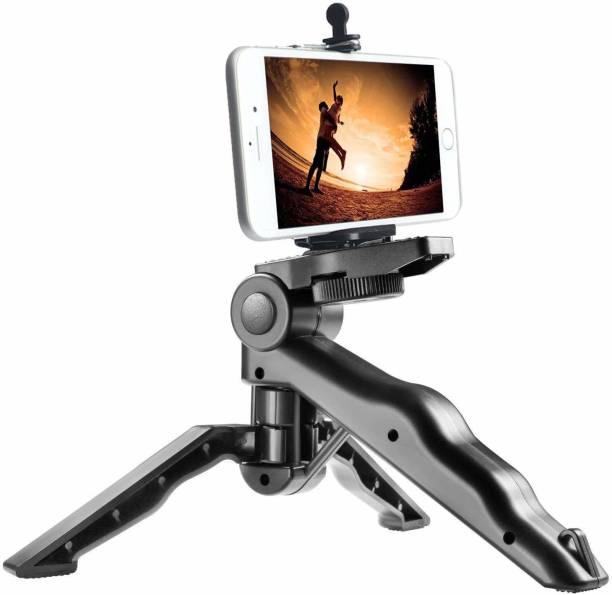XGMO Universal Mini Pistol Grip Tripod With 2-in-1 Mobile Attachment Perfect fit for All Smartphones,Action & DSLR Camera's Monopod Kit, Tripod, Tripod Kit, Tripod Ball Head
