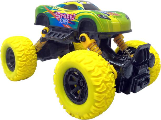 Toyshack Pull Back Rock Crawler Monster Truck with Rubber Wheels for Kids