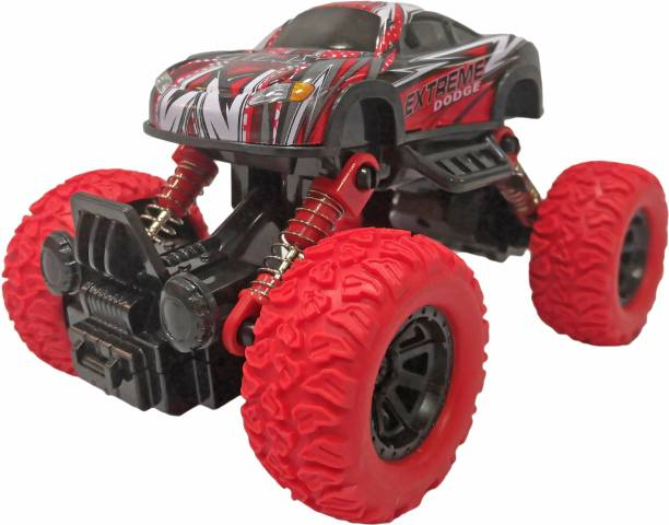 Toyshack Pull Back Rock Crawler Monster Truck with Rubber Wheels for Kids