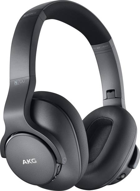 AKG N700 With Active Noise Cancellation Enabled Bluetooth Headset