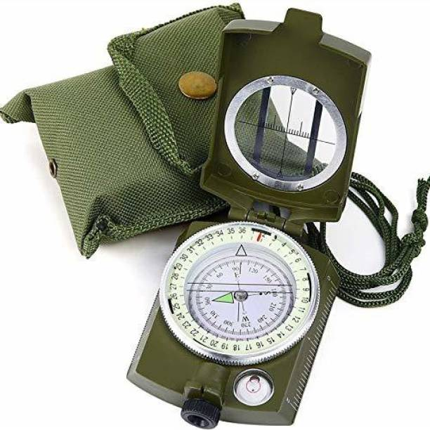 Psb Military Lensatic and Prismatic Compass, Waterproof Compass