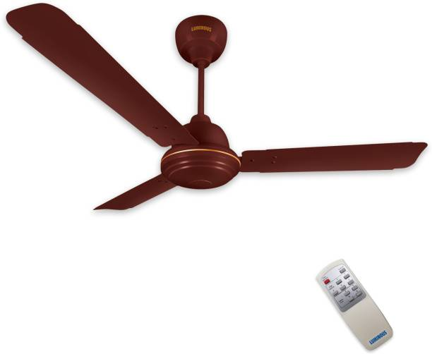 LUMINOUS Potentia 1200 mm BLDC Motor with Remote 3 Blade Ceiling Fan