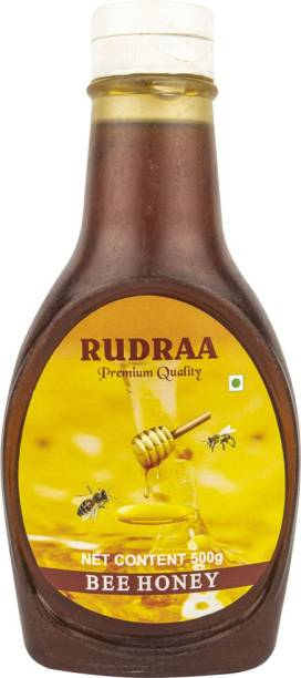 Rudraa Bee Natural Honey premium quality Honey For better Digestion natural sweetener, easily digested