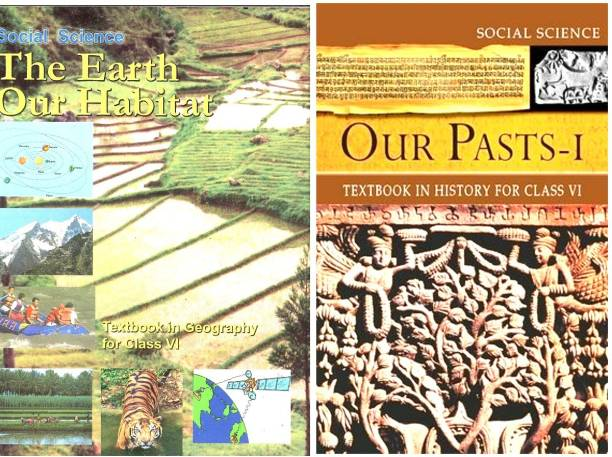 CLASS-VI (6th) NCERT BOOK FOR GEOGRAPHY AND HISTORY IN COMBO PACK