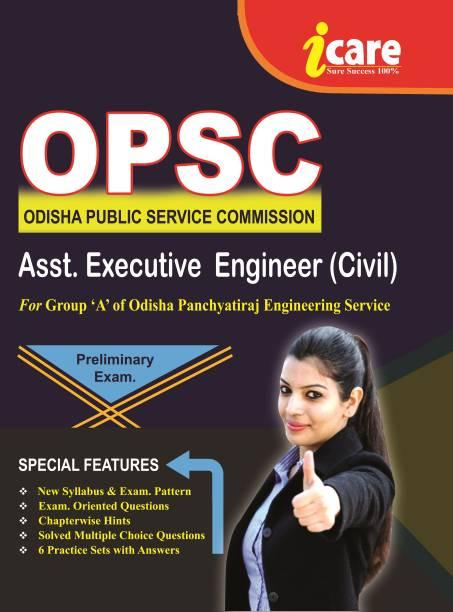 OPSC ASST. EXECUTIVE ENGINEER ( CIVIL ) FOR Group 'A ' Of Odisha Panchayatiraj Engineering Service ,.Preliminary Exam
