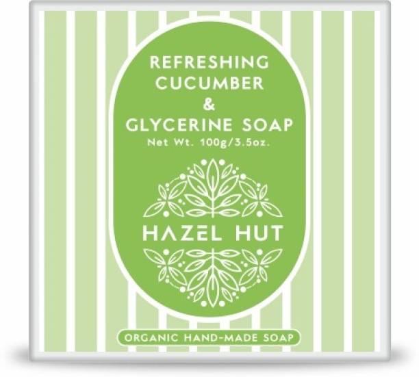 Hazel Hut Refreshing Cucumber and Glycerine Soap