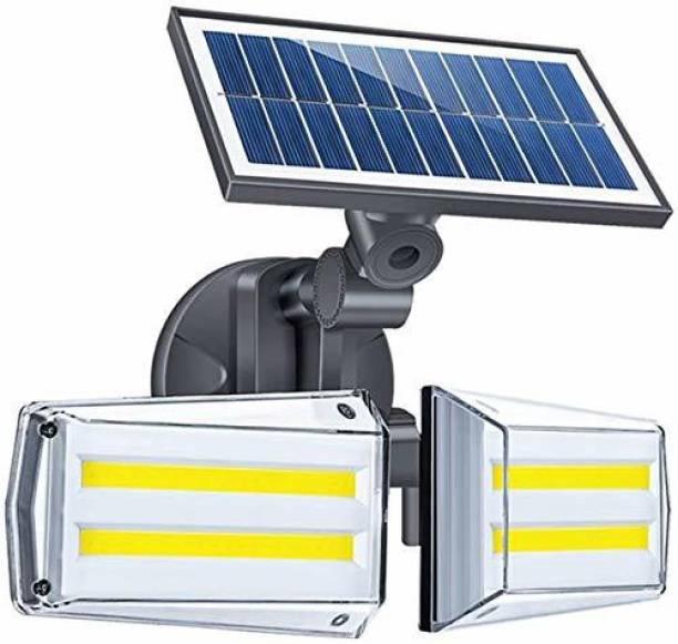 HARDOLL 80 LED COB Solar Lights for Home Wall Light for Garden Outdoor Decorative Waterproof Solar Light Set