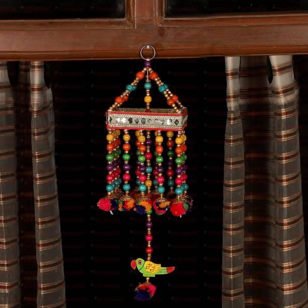 TIED RIBBONS Diwali Decoration Bandhanwar Decorative Latkan Toran for Door/wall Hanging Toran