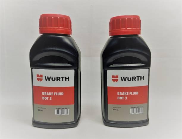 wuerth 0892008182 BRAKE FLUID DOT3 Brake Oil