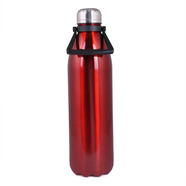HOMACE Stainless Steel Cola Water Bottle (Red, 1800ML, HOT and COLD Thermal Flask) 1800 ml