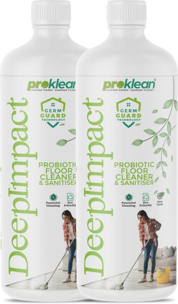 PROKLEAN Deepimpact | Eco-Friendly, Non-Toxic, Anti-viral, Baby & Pet Safe, Probiotic& Natural Floor & bathroom Cleaner and Sanitiser Classic