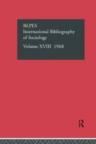 IBSS: Sociology: 1968 Vol 18