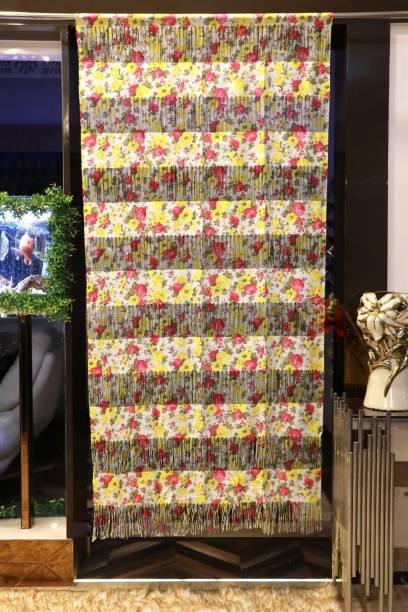 Rainbow Furnishings 200 cm (6 ft) Polyester Door Curtain Single Curtain