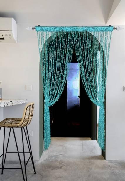 Rainbow Furnishings 215 cm (7 ft) Polyester Door Curtain Single Curtain