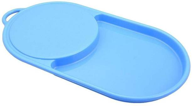 Gambit Plastic Chopping Tray Cutting tray for Kitchen | Fruit & Vegetable Cutting/Chopping Tray with Board, Quick Plastic Cutting Board