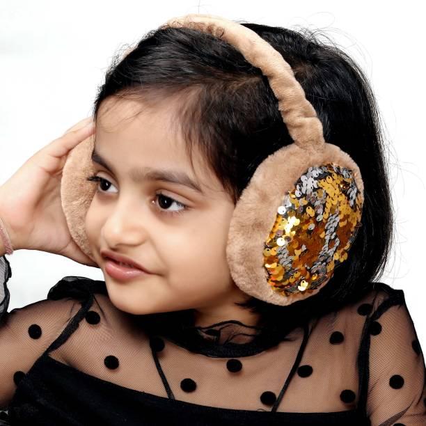 Myy Ear Muffs Big Sequence Gold Ear Muff