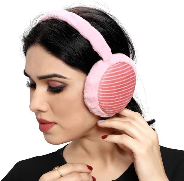 Myy Ear Muffs Strip (PinkRed) Ear Muff