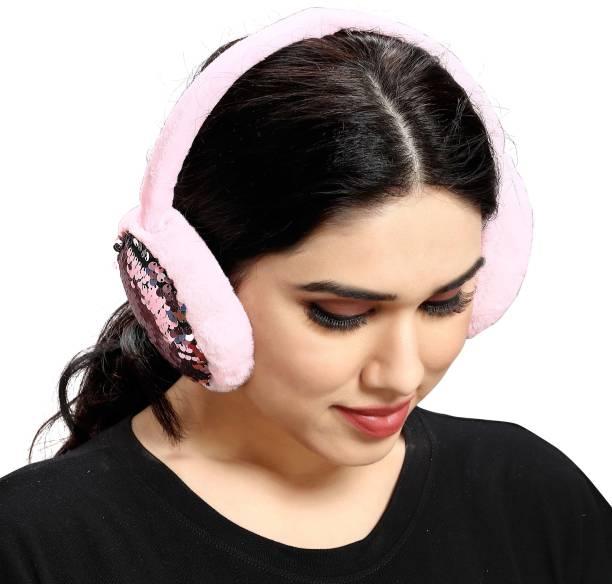 Myy Ear Muffs Big Sequence (Pink) Ear Muff