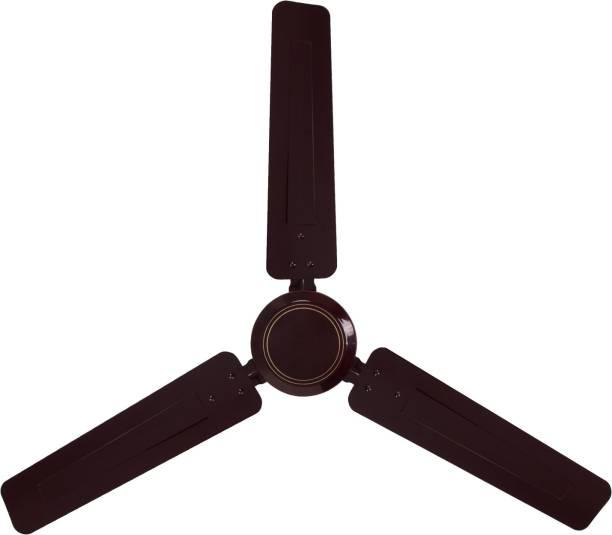 LUMINOUS Morpheus Brown 1200 mm 3 Blade Ceiling Fan