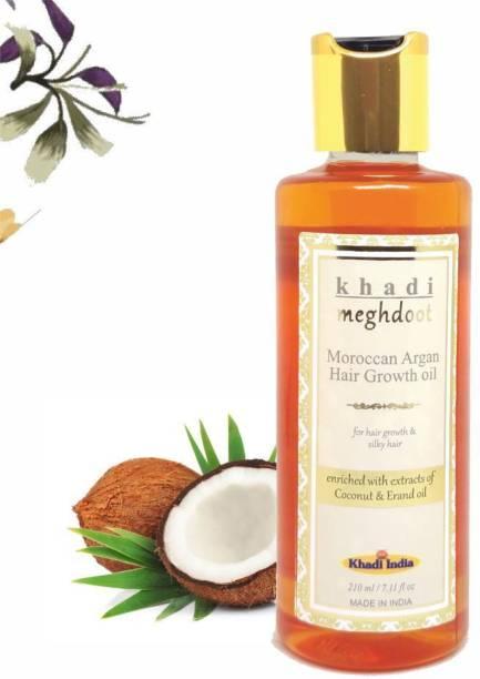 KHADI MEGHDOOT Moroccan Argan Hair Growth Oil for Hair Growth & Silky Hair Hair Oil