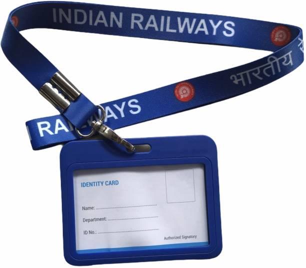 India Railway Plastic Lanyard
