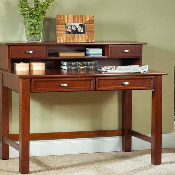 FURINNO Solid Wood Study Table