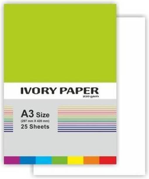 Royal Kraft Super Fine Unruled Ivory A3 210 gsm A3 Paper