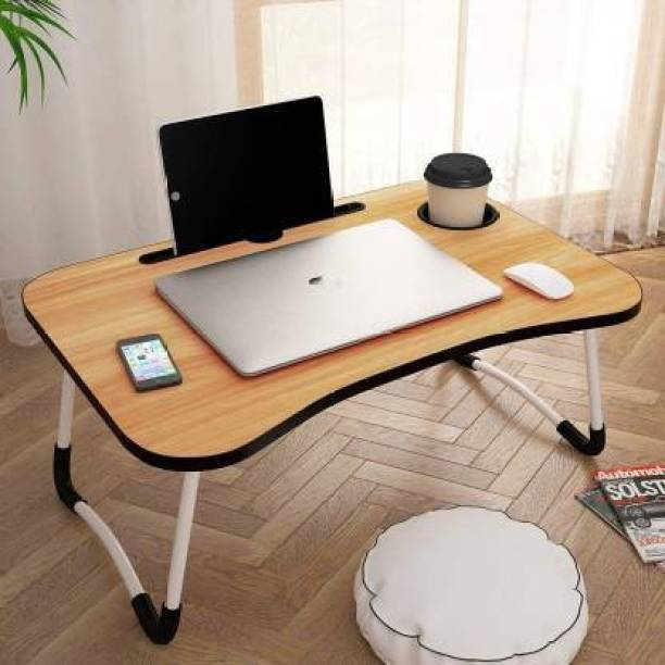 DOOR STEP SHOPPING Wood Portable Laptop Table