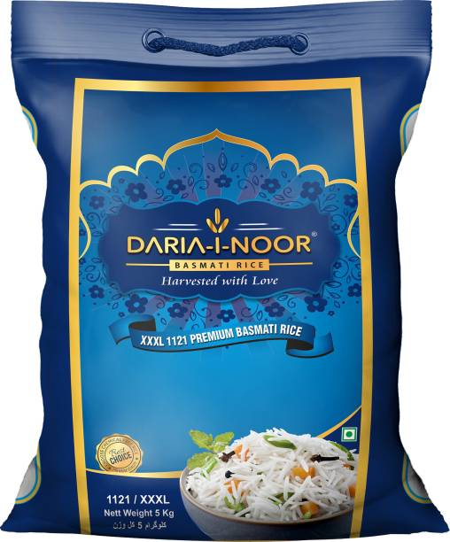 DARIA-I-NOOR 1121 Pusa Basmati Rice (Long Grain, Steam)