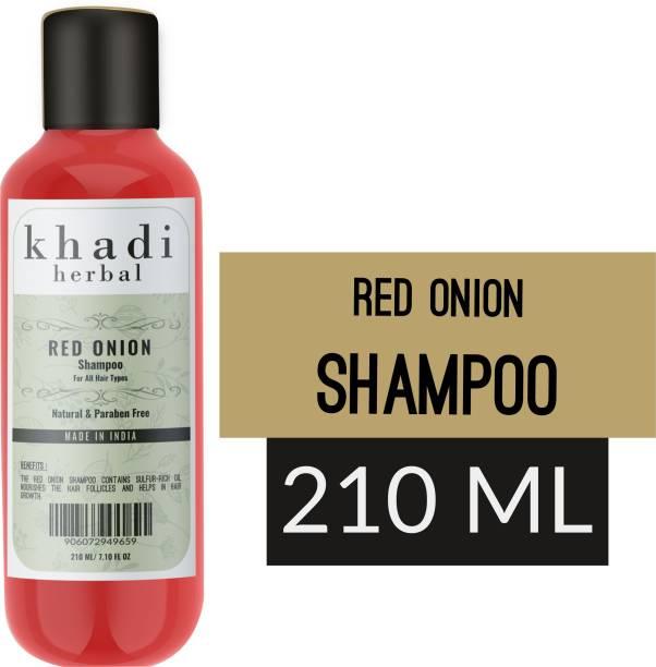 Khadi Herbal Red Onion Shampoo