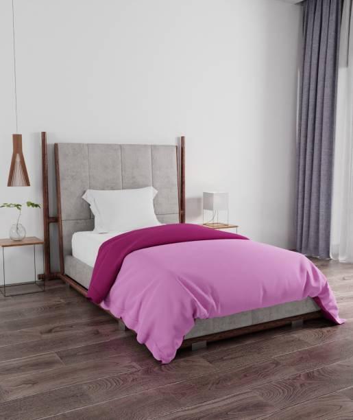 PORTICO NEW YORK Solid Single Comforter