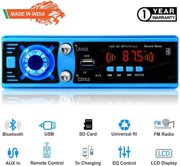 Sound Boss BLUETOOTH/USB/AUX/FM/SD Car Stereo