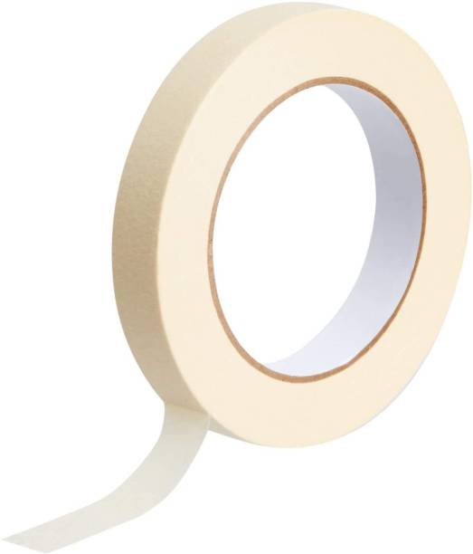 HEER Single Sided (Pack of 1), 24 mm x 20 mtr Handheld Masking Tape (Manual)