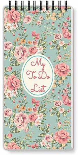 Nourish ToDo List Note Pad Regular Note Pad Ruled 50 Pages