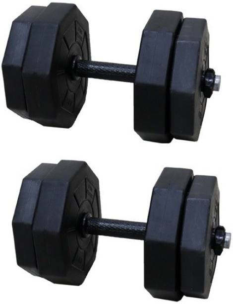 Star X 8kg - 30kg Hexa PVC Dumbbell set Unbrekabale Adjustable Dumbbell