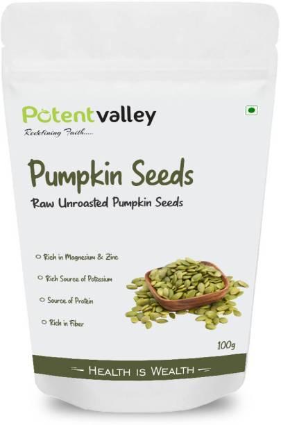 Potentvalley Raw Pumpkin Seeds Keto Snacks, Paleo, Gluten Free, Vegan, Organic, Plant Based, High Protein, Low Glycemic Index, Peanut Free Facility