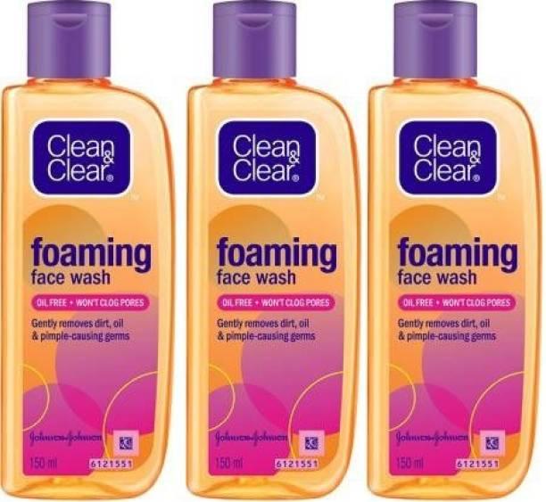 Clean & Clear  150 Ml *3 Pcs Face Wash