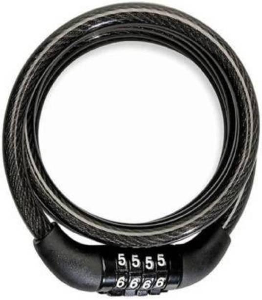 PICKTOOLS Steel Cable Lock For Helmet
