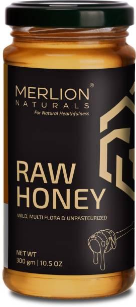 Merlion Naturals Raw Honey (Wild / Forest, Multiflora, Unprocessed, Unpasteurized, No Preservatives)