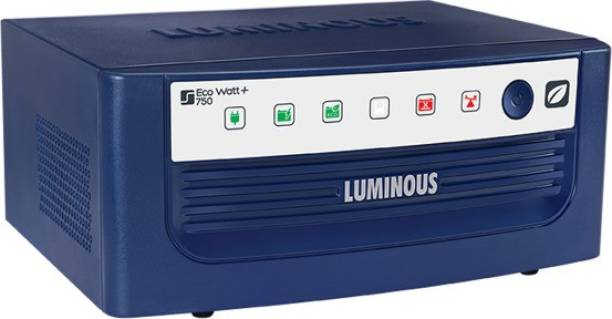 LUMINOUS Eco Watt+ 750 Smart Home UPS Square Wave Inverter