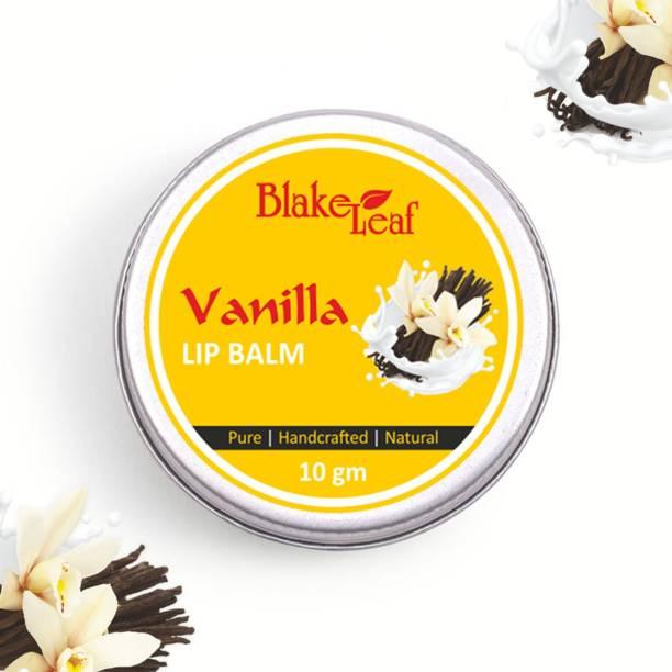 blake leaf cosmetics Blake Leaf Vanilla Natural Hydrating Lip Balm for Dry Chapped Lips I Moisturising Balm with Shea Butter , Coconut & Vanilla I Sulphate & Paraben Free vanilla